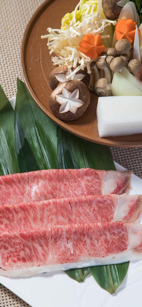 食材 牛肉 食材 火锅 寿喜锅