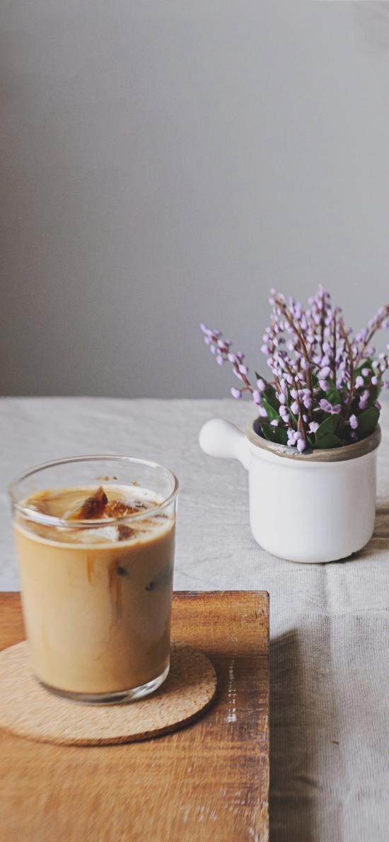 饮品 咖啡 提神 冰块