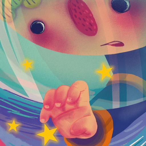 插画 小王子 星星 童真