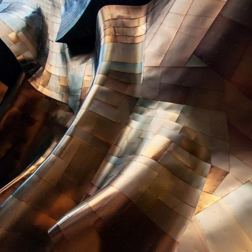 立体 建筑 创意 拼接 几何
