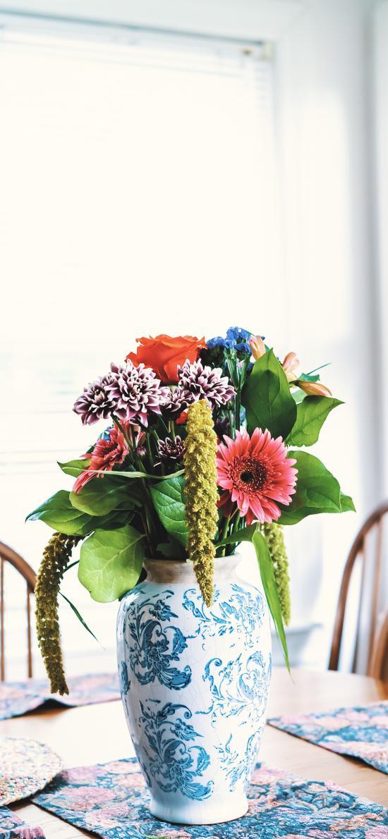 花瓶 鲜花 插花 观赏
