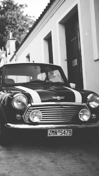 汽车 复古 黑白照 老爷车 怀旧