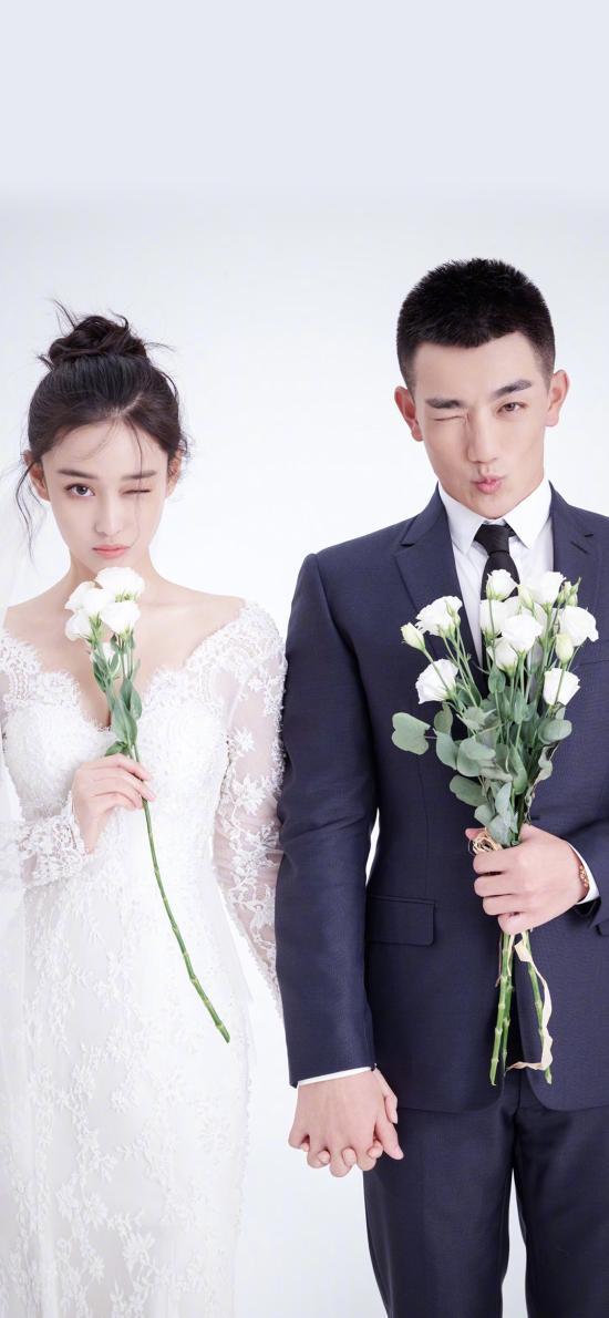 張馨予 何捷 藝人 婚紗照