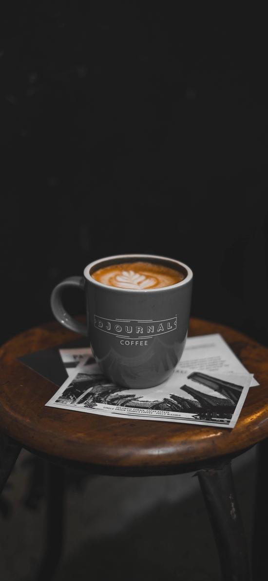 咖啡 桌面 卡片  明信片