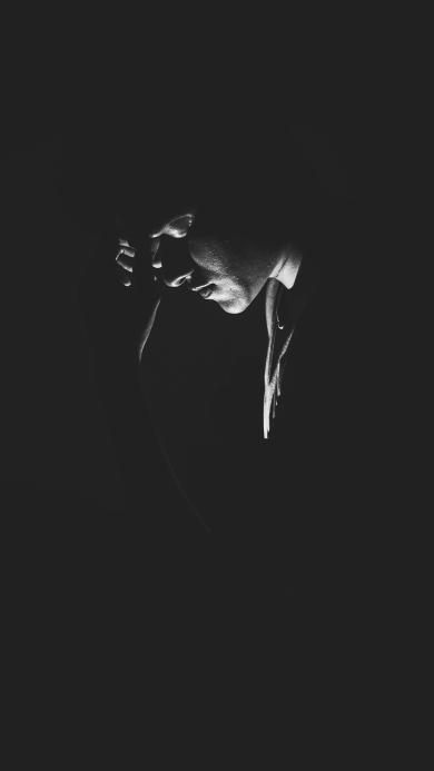 写真 欧美 型男 黑白