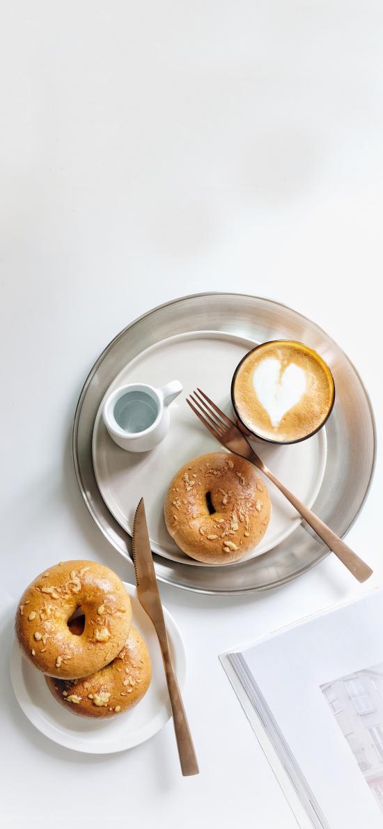 烘焙 点心 甜甜圈 咖啡