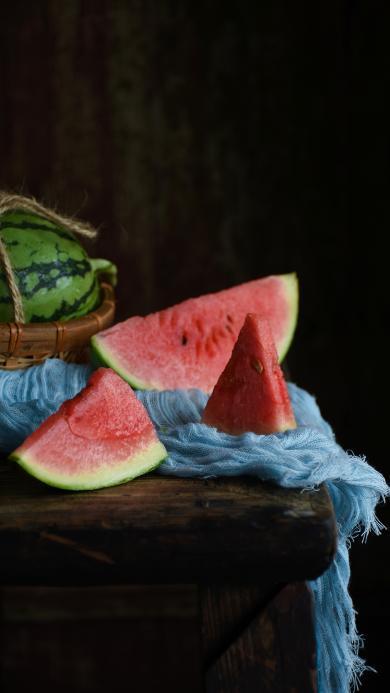 西瓜 水果 解暑 消暑