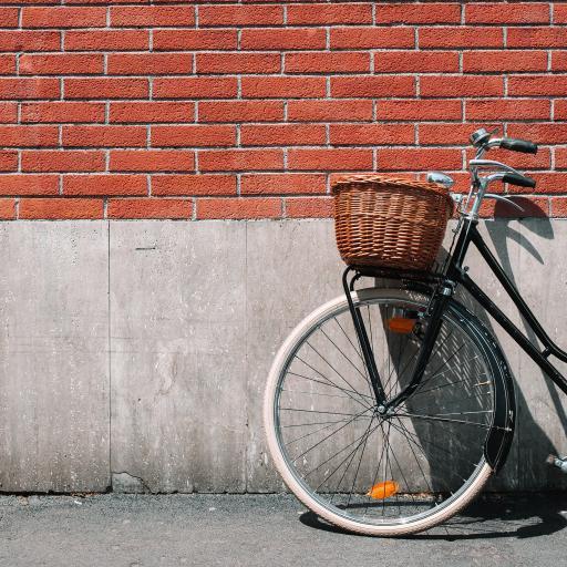 单车 自行车 墙壁 砖墙
