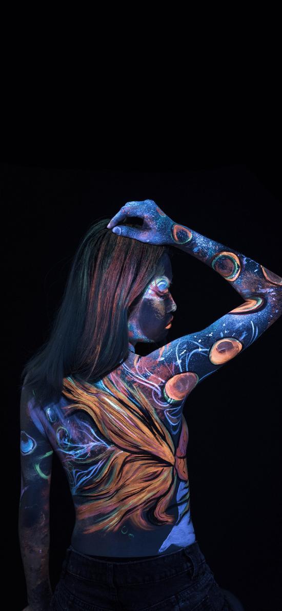 人體彩繪 藝術 色彩