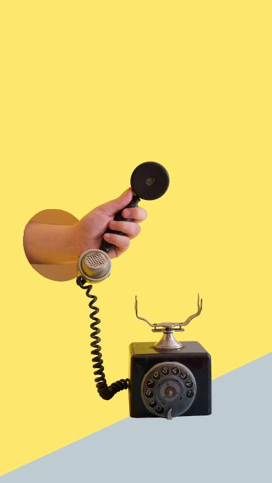 电话 手摇 创意 复古 老式