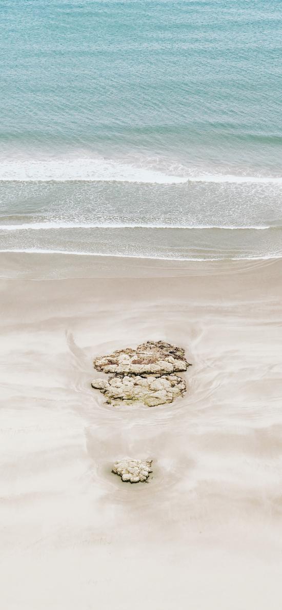 沙滩 海边 海浪