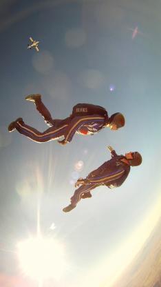 跳伞 运动 极限 刺激