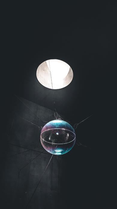 天窗 圆球 悬空 装饰