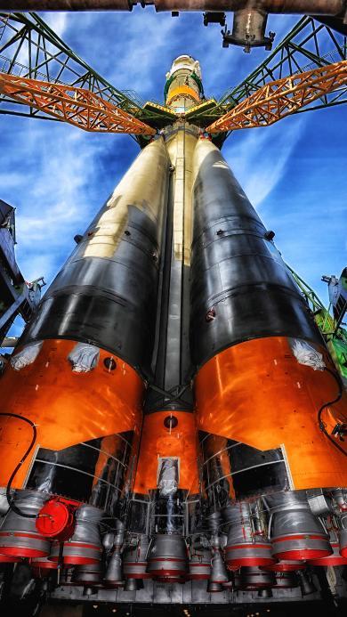 火箭发射台 天文 科技 航空