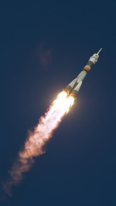 火箭 飞行 发射 火焰 航空 科技