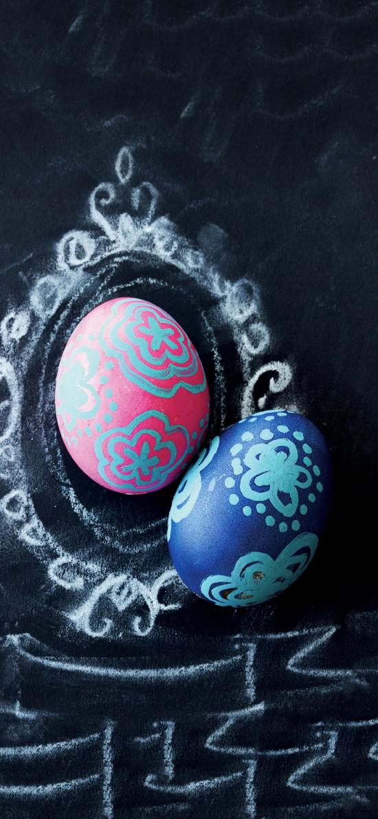 鸡蛋 彩绘 花纹 工艺