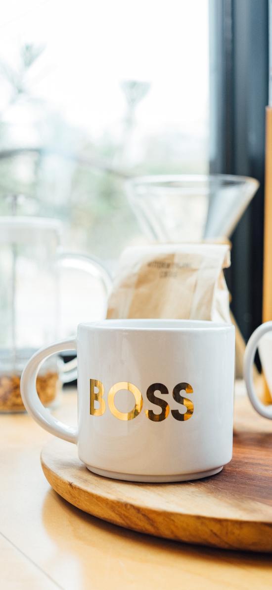 马克杯 boss 简约 杯子