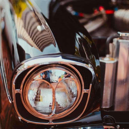 汽车 车灯 轿车 光亮