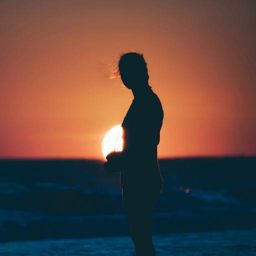 摄影师 大海 落日 夕阳