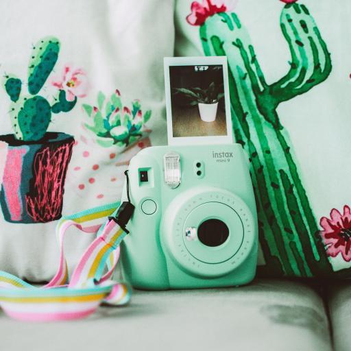 相机 相纸 拍立得 清新