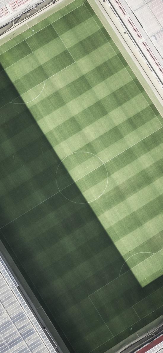 球場 綠蔭 草坪 運動場