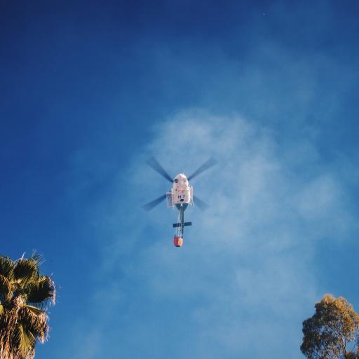 直升机 云彩 天空 高空