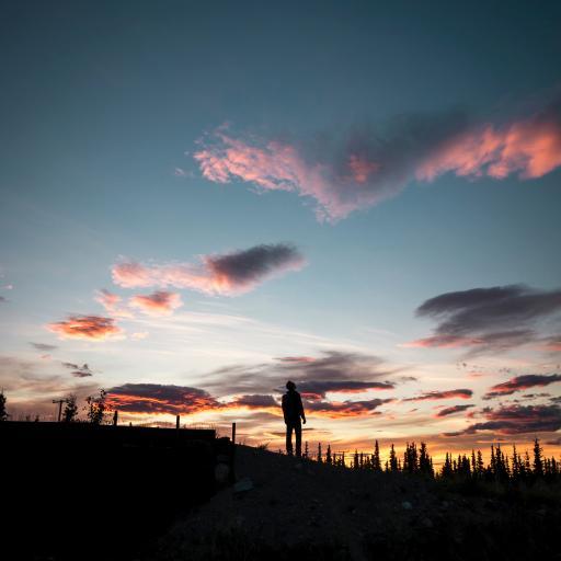 自然 天空 火烧云 美景