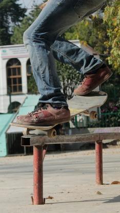 滑板 运动 刺激 户外 花式