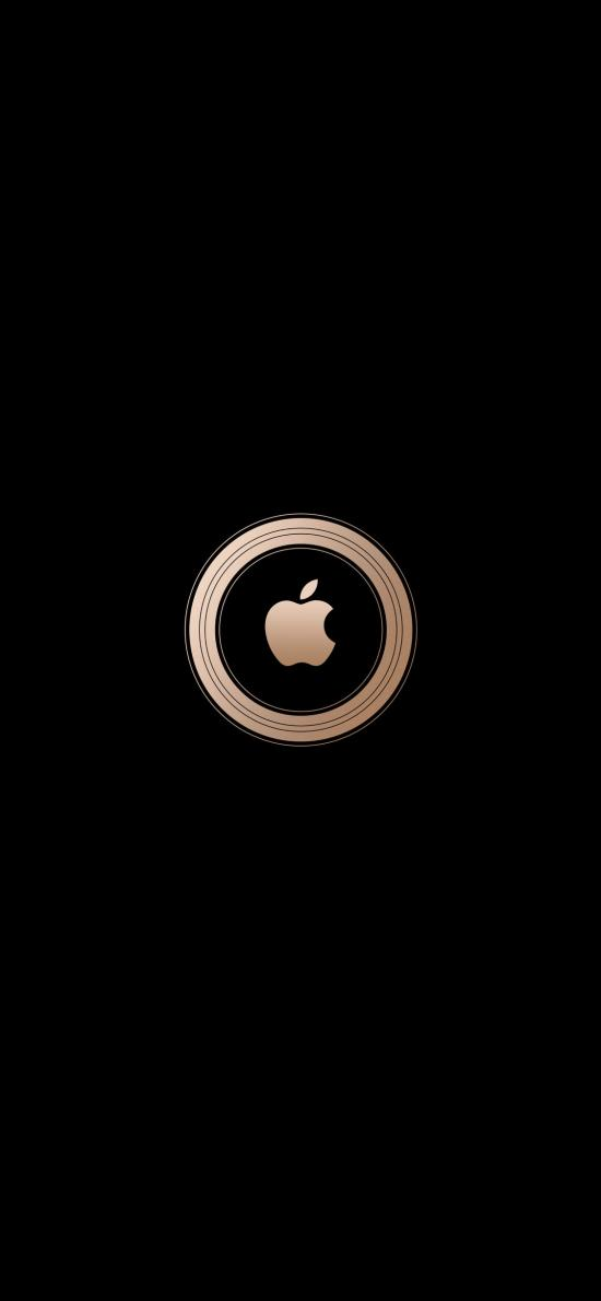 苹果 logo 品牌 圆 标志 iPhone xs