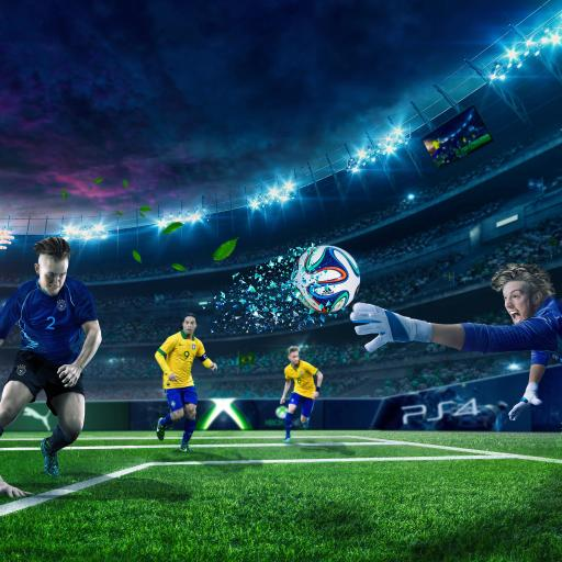 足球 运动 球赛 球场 比赛