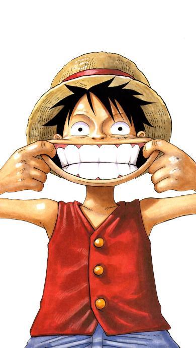 路飞 海贼王 搞怪 牙齿 动画 日本