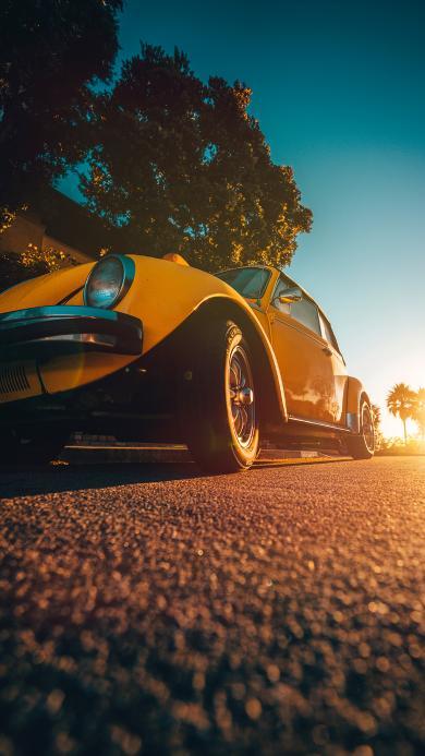 汽车 道路 复古 轿车