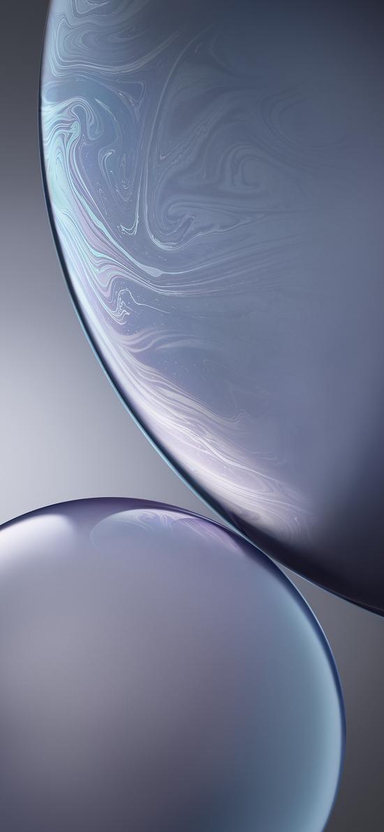 气泡 原生 iPhone xs 内置 灰色