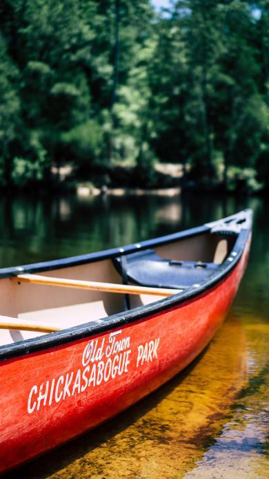 船只 湖泊 木船 水面