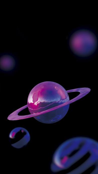 星球 黑色 宇宙 圆形