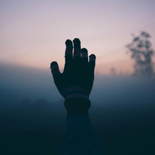手部 手套 光影 阴影