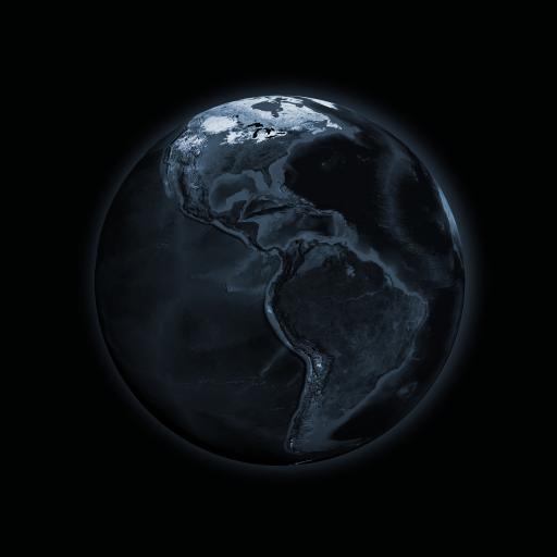 地球 星球 宇宙 黑暗 天文