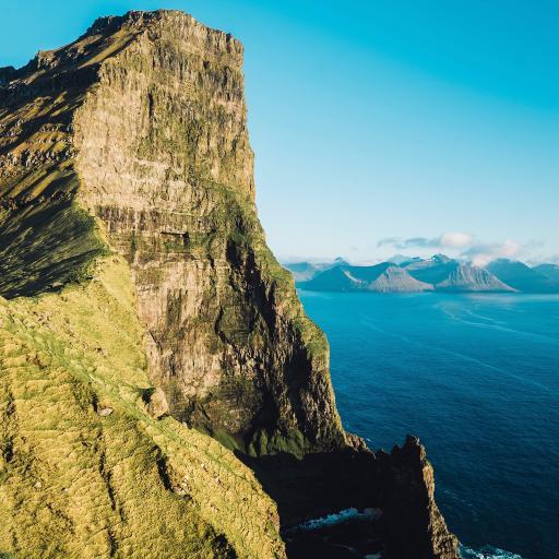 海峡 山峰 自然 壮观