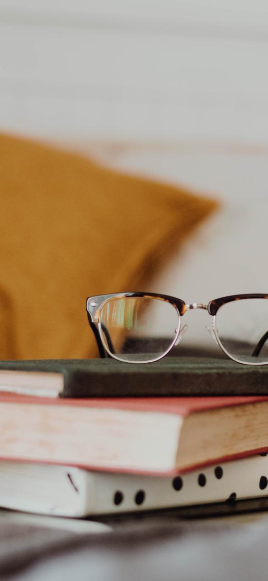 静物 书本 眼镜 书籍