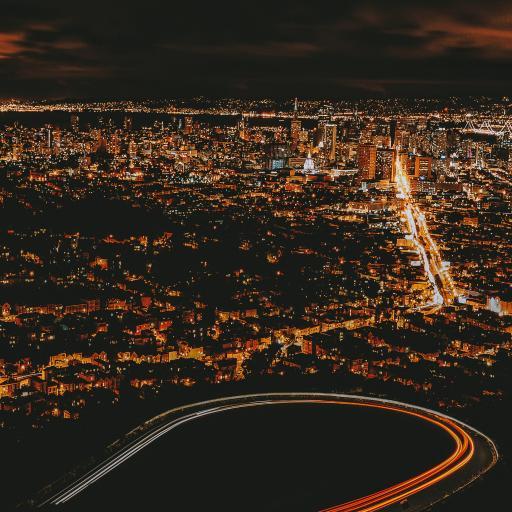 城市 夜景 灯光 繁华