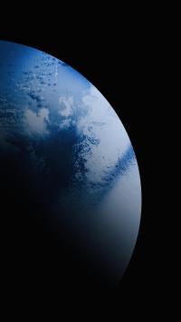 星球 弧度 圆 渐变 黑暗