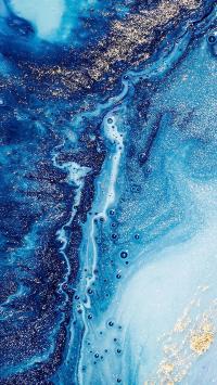 液体 流动 抽象 渐变 气泡