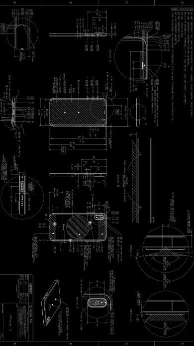 设计图 黑色 iPhone 线稿 手机 数据