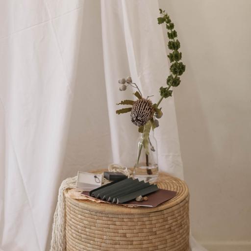 静物 绿植 装饰 布匹