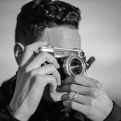 欧美 型男 摄影 相机
