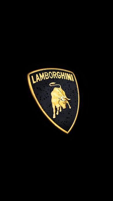 兰博基尼 logo 车标 标志 黑色