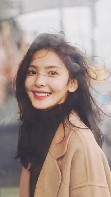 章若楠 演员 网红 明星 艺人 笑容