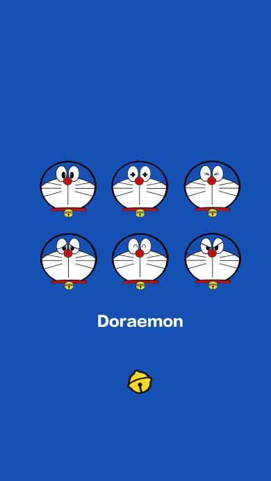 哆啦A梦 动画片 漫画 叮当猫 蓝色 可爱