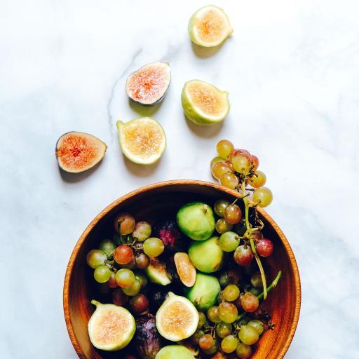 水果 拼盘 无花果 葡萄