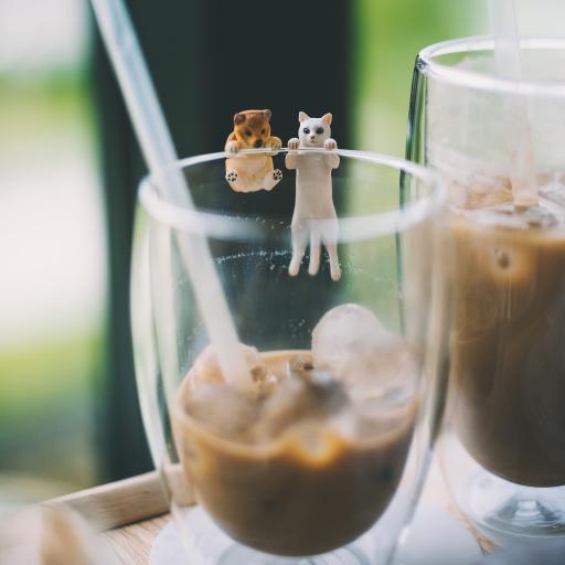 饮品 咖啡 冰块 装饰